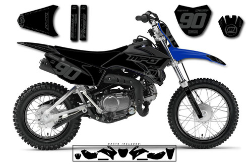 MotoPro Graphics Custom Yamaha TTR110 Pit Bike BLACKOUT Series Graphics - FREE SHIPPING