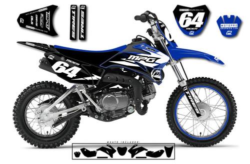 MotoPro Graphics Custom Yamaha TTR110 Pit Bike CHAMPION Series Graphics - FREE SHIPPING