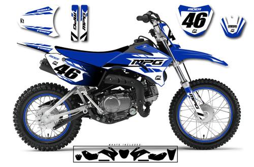 MotoPro Graphics Custom Yamaha TTR110 Pit Bike CLASS Series Graphics - FREE SHIPPING