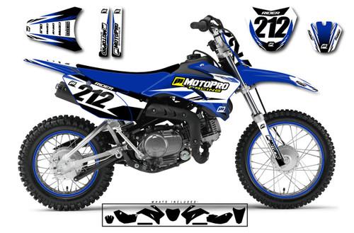 MotoPro Graphics Custom Yamaha TTR110 Pit Bike FACTORY Series Graphics - FREE SHIPPING