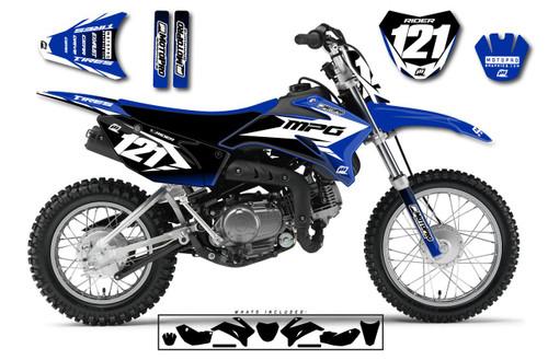 MotoPro Graphics Custom Yamaha TTR110 Pit Bike GAMMA Series Graphics - FREE SHIPPING