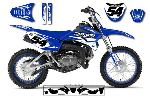 MotoPro Graphics Custom Yamaha TTR110 Pit Bike GENESIS Series Graphics - FREE SHIPPING