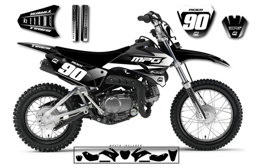 MotoPro Graphics Yamaha TTR110 Pit Bike LAZY Series Graphics - FREE SHIPPING
