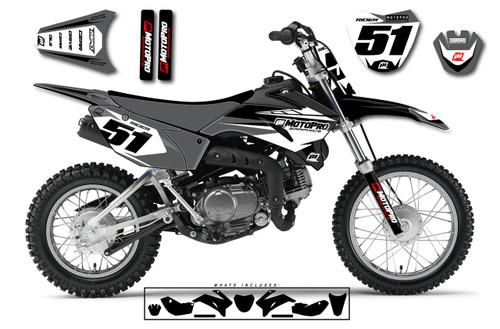 MotoPro Graphics Yamaha TTR110 Pit Bike ROOTS Series Graphics - FREE SHIPPING