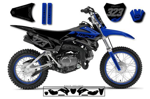 MotoPro Graphics Yamaha TTR110 Pit Bike POLY BLACK Series Graphics - FREE SHIPPING