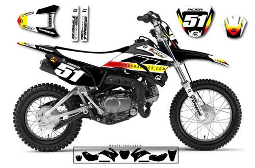 MotoPro Graphics Yamaha TTR110 Pit Bike NEXT Series Graphics - FREE SHIPPING