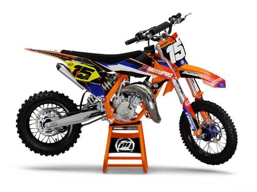 MotoPro Graphics Custom KTM 85 SX Dirt Bike ELITE Series Graphics Set - FREE SHIPPING