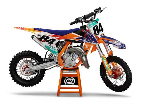 MotoPro Graphics Custom KTM 85 SX Dirt Bike FACTORY 2.0 Series Graphics Set - FREE SHIPPING