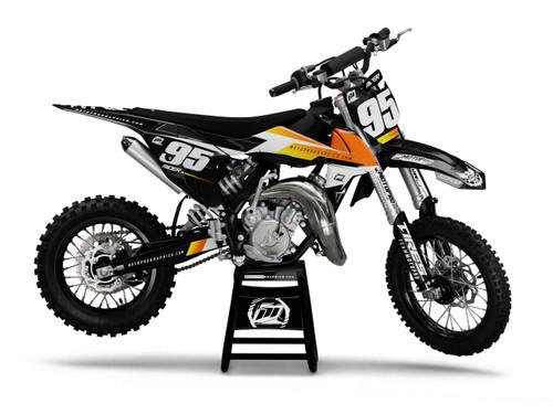 MotoPro Graphics Custom KTM 85 SX Dirt Bike FACT Series Graphics Set - FREE SHIPPING