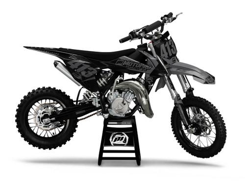 MotoPro Graphics Custom KTM 85 SX Dirt Bike GAMMA STEALH 2 Series Graphics Set - FREE SHIPPING
