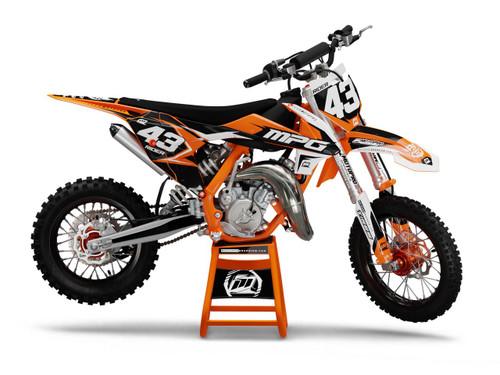 MotoPro Graphics Custom KTM 85 SX Dirt Bike ONE Series Graphics Set - FREE SHIPPING
