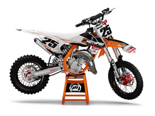 MotoPro Graphics Custom KTM 85 SX Dirt Bike SPY Series Graphics Set - FREE SHIPPING
