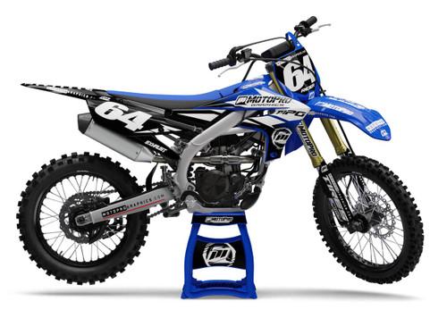 MotoPro Graphics Yamaha Dirt Bike Champion Black Graphics