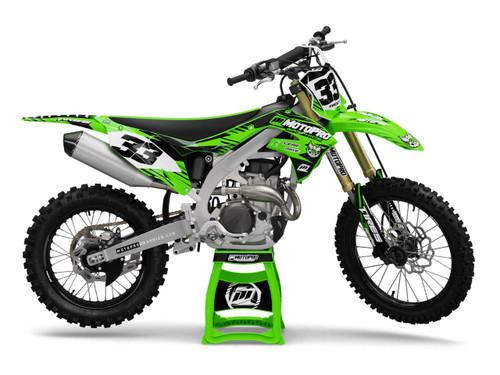 MotoPro Graphics Kawasaki Dirt Bike Gamma Series Graphics
