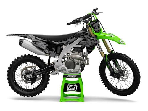 MotoPro Graphics Kawasaki Dirt Bike Gamma Stealth Graphics