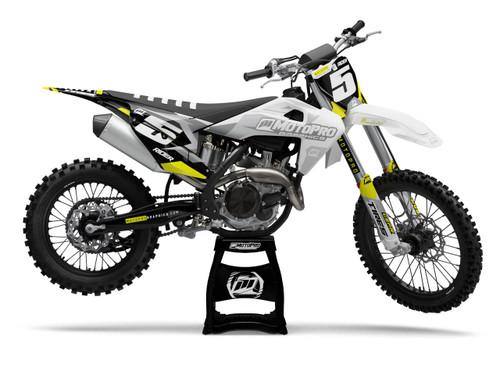 MotoPro Graphics Husqvarna Dirt Bike Hex Series Graphics