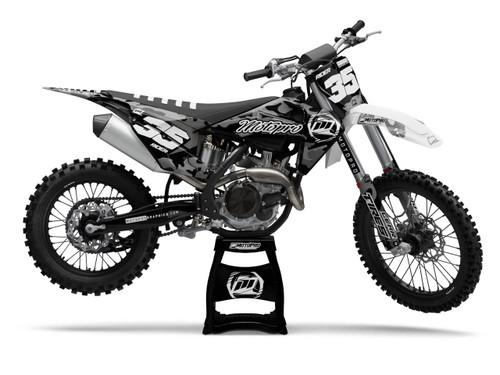 MotoPro Graphics Husqvarna Dirt Bike Cognito Black Graphics