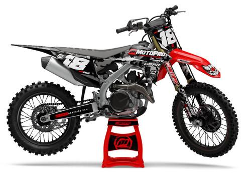 MotoPro Graphics Honda Dirt Bike Cognito Camo Series Graphics