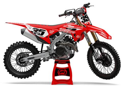 MotoPro Graphics Honda Dirt Bike Genesis Series Graphics