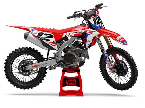 MotoPro Graphics Honda Dirt Bike Wurx Graphics