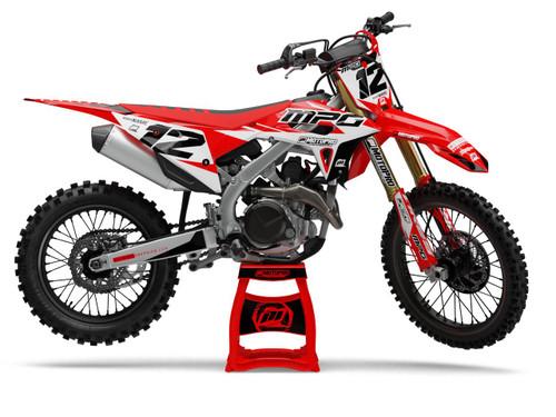 MotoPro Graphics Honda Dirt Bike Factory Series Graphics