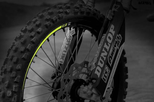 MotoPro Graphics Wheel Decals Includes 8 - 4 per wheel