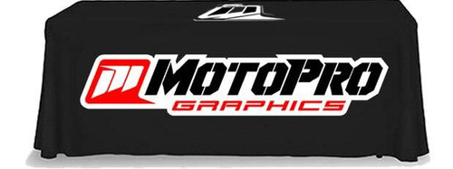 MotoPro Graphics Custom Tablecloth for 6 Table