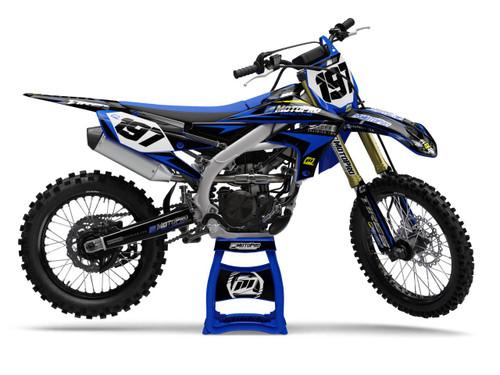MotoPro Graphics Yamaha Dirt Bike Chrome Intimidator Graphics