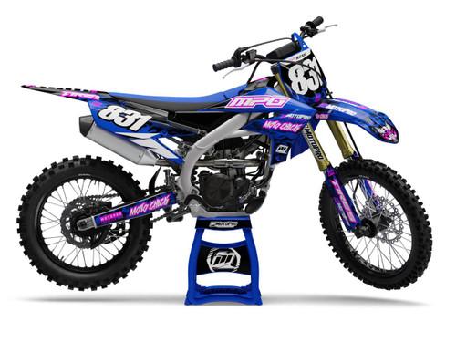 MotoPro Graphics Yamaha Dirt Bike Cheetah Series Graphics