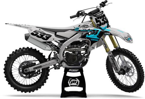 MotoPro Graphics Yamaha Dirt Bike Nashville Series Graphics