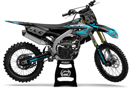 MotoPro Graphics Yamaha Dirt Bike Nashville Midnight Series Graphics