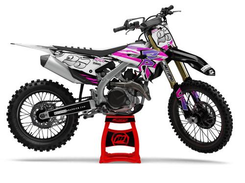 MotoPro Graphics Honda Dirt Bike Throwback Series Graphics