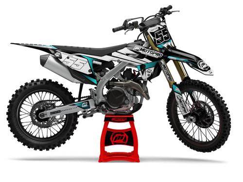 MotoPro Graphics Honda Dirt Bike Rocket Graphics