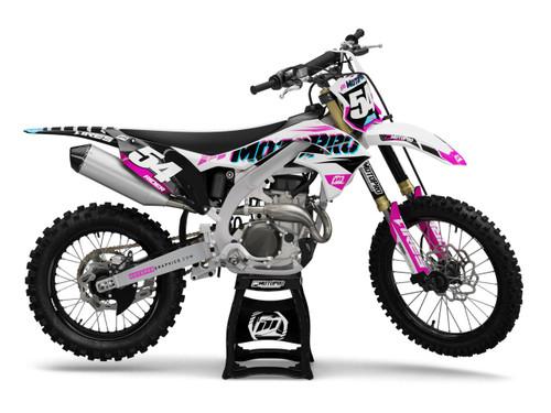 MotoPro Graphics Kawasaki Dirt Bike SWATCHER Graphics