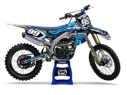 MotoPro Graphics Yamaha Dirt Bike Assault Series Graphics