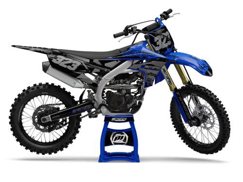 MotoPro Graphics Yamaha Dirt Bike Poly Blacks Graphics
