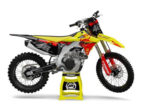 MotoPro Graphics Suzuki Dirt Bike Low Key Series Graphics