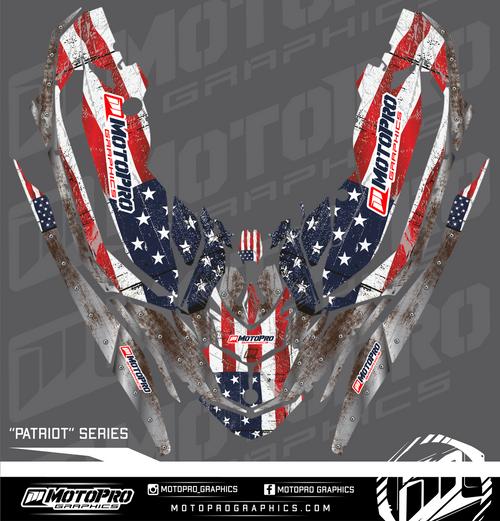 MotoPro Graphics Sea-Doo Spark Graphic Set - Patriot Series