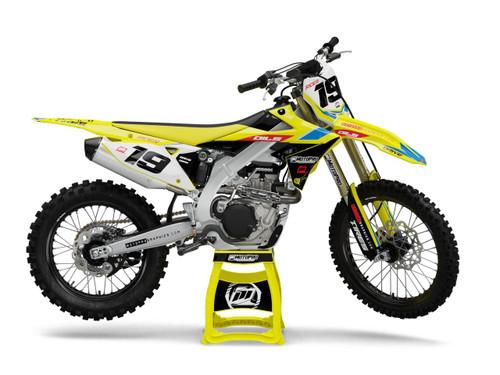 MotoPro Graphics Suzuki Dirt Bike DASH Series Graphics