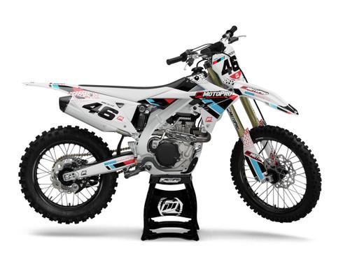 MotoPro Graphics Suzuki Dirt Bike DIAMOND Series Graphics