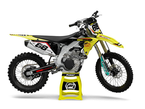 MotoPro Graphics Suzuki Dirt Bike HOLESHOT Series Graphics