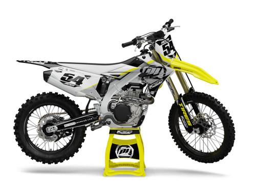 MotoPro Graphics Suzuki Dirt Bike LION Series Graphics
