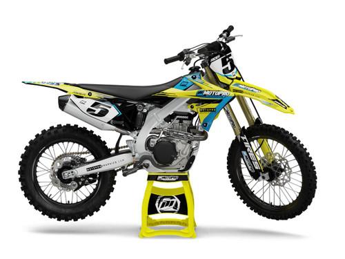 MotoPro Graphics Suzuki Dirt Bike STRIVE Series Graphics