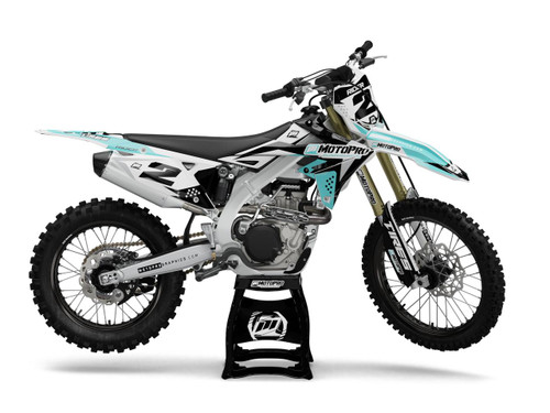 MotoPro Graphics Suzuki Dirt Bike TECH Series Graphics