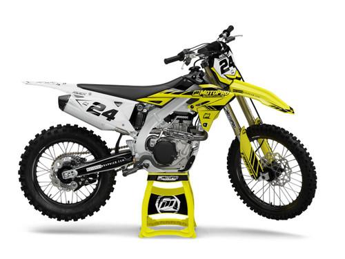 MotoPro Graphics Suzuki Dirt Bike WEET Series Graphics