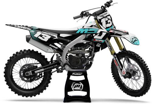 MotoPro Graphics Yamaha Dirt Bike DRUM Series Graphics