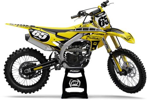 MotoPro Graphics Yamaha Dirt Bike HURRICANE Series Graphics