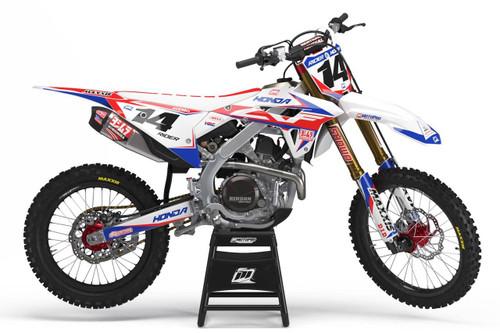 MotoPro Graphics Honda Dirt Bike ALL STAR Series Graphics