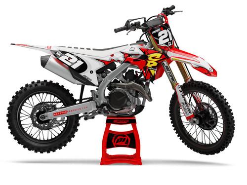 MotoPro Graphics Honda Dirt Bike COLLECT Series Graphics