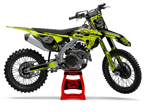 MotoPro Graphics Honda Dirt Bike FLOW Series Graphics